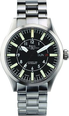 @ballwatchco Aviator #bezel-fixed #bracelet-strap-steel #brand-ball-watch-company #case-depth-13-3mm #case-material-steel #case-width-46mm #date-yes #day-yes #delivery-timescale-4-7-days #dial-colour-black #gender-mens #luxury #movement-automatic #official-stockist-for-ball-watch-company-watches #packaging-ball-watch-company-watch-packaging #style-dress #subcat-engineer-master-ii #supplier-model-no-nm1080c-s3-bk #warranty-ball-watch-company-official-2-year-guarantee #water-resistant-100m