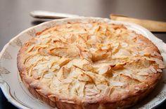 French dessert { Normandy apple tart }