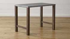 """Galvin High Dining Table;  Width: 48"""" Depth: 28"""" Height: 36"""""""