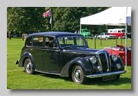"""Daimler DB18 and Consort - The Daimler DB18 really started life as a 15hp 1803cc car in 1932, the Daimler 'Light Fifteen'. The model was economic and very popular and gradually evolved until in 1938 it was 18hp and now had a 2522cc. The DB18 took this recipe further and was in production into the 1950s. Mulliners Ltd"""">Mulliners of Bordesley Green  built the standard 6-light saloon on the DB18. In 1939 a standard saloon body was offered on the '2½litre' model and after WW2 this was revised…"""