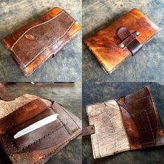 Leather Tobacco pouch custom made to order by MiddleOfTheWater Leather Tobacco Pouch, Leather Men, Leather Bags Handmade, Leather Craft, Magic Bag, Medicine Bag, Cigars And Whiskey, Sewing Toys, Leather Design
