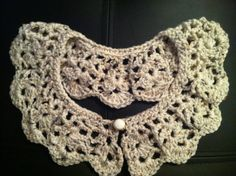 Handmade Crochet Peter Pan Collar