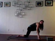 Pregnancy Yoga Week 17 - Mindfulness - YouTube