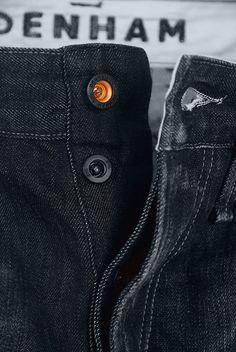 Image Hosted by ImageShack. Denham Jeans, Hipster Jeans, Japanese Denim, Denim Branding, Jeans Button, Zara Man, Denim Outfit, Denim Fashion, Fashion Details