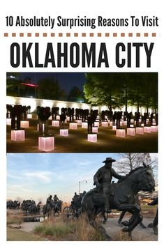 Visit Oklahoma City for a surprising selection of things to do & see. Art, culture, history and unique experiences will capture your imagination and heart.