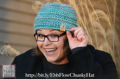 Grab some Evermore yarn from Red Heart and knit this beginner Ebb and Flow Chunky Hat. Learn how with the video tutorial on the Marly Bird YouTube Channel.