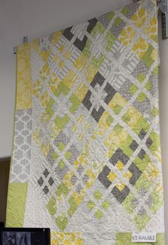 I'm not much for quilts, but I really like this one! Fabric Mill: Gypsy Girl + quilt kit