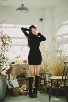 Cute Skirt Outfits, Cute Comfy Outfits, Chic Outfits, Girl Outfits, Korean Girl Fashion, Korean Fashion Trends, Stage Outfits, Kpop Outfits, Girls Fashion Clothes
