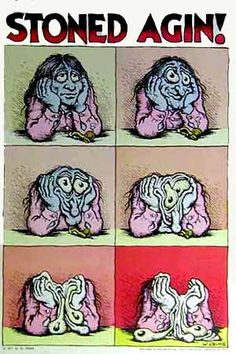 Stoned Again. R.Crumb, 1969.