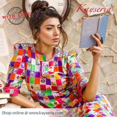 Kayseria Latest Beautiful Printed Ladies Outfits 2014 1 300x300 Kayseria Beautiful Printed Ladies Outfits 2014