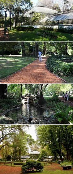 El Jardín Botánico de Buenos Aires fue diseñado por Carlos Thays e inaugurado el 7 de septiembre de 1898. En su diseño se encuentran los tres estilos principales de la jardinería paisajista: el simétrico, el mixto y el pintoresco, recreados en los jardines romano, el francés y el oriental.