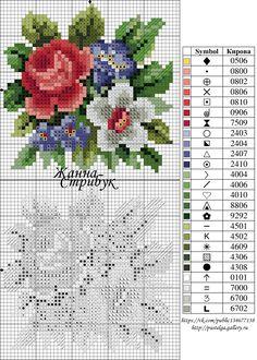 Cross Stitch Pillow, Mini Cross Stitch, Cross Stitch Cards, Cross Stitch Rose, Cross Stitch Alphabet, Cross Stitch Flowers, Cross Stitching, Cross Stitch Embroidery, Embroidery Patterns