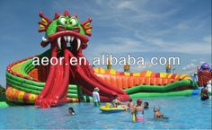 2014 hot sale sea inflatable water park / water toy /water games $299~$999