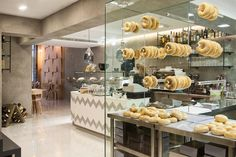 Madeya bagel-coffee shop by Angeliki Antonakopoulou - The Greek Foundation