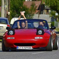 "topmiata: ""From Bulgaria! www.TopMiata.com   #TopMiata #mazda #miata #mx5 #eunos #roadster #bulgaria"""