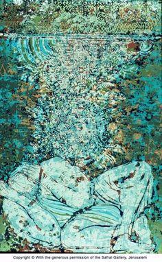Shraga Weil-1970-Akeda I--Abraham s Dream I. Jerusalén. Safrai Gallery.