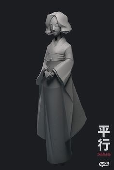 ArtStation - The Parallel (Kimono), Kontorn Boonyanate