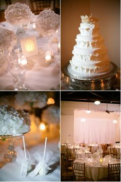 I absolutely love the cake!  What a beautiful and elegant design!