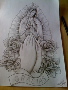 lady of guadalupe tattoo black and white google search taco pinterest. Black Bedroom Furniture Sets. Home Design Ideas