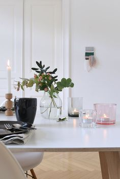 Relaxing + Cozy Tabletop Decor Inspired By Finland