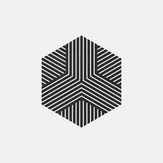 "dailyminimal: ""#JL16-651 A new geometric design every day """