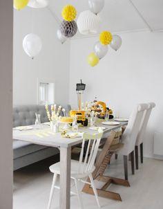 birthday party boy, construct , birthday ideas