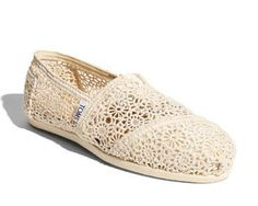 Fun & cute lace flats.  I had a similar pair in grade school.