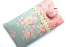 Handy- Tasche  *  iPhone Hülle von Frau-Rosarot 14x8 für 12,5x6x1; 11,5