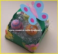 maestra Nella: cestino pasquale Hobby, Cake, Desserts, Crafts, Diy, Easter Ideas, Education, Alphabet, Easter