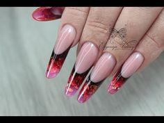 French Acrylic Nails, Bling Acrylic Nails, Gel Nails, Nail Art Designs Videos, Nail Designs, Acryl Nails, Plaid Nails, Classic Nails, Autumn Nails