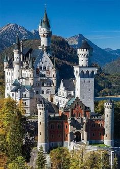 I'm researching locations for my next hero's home. I've long admired this one. Beautiful Places To Visit, Cool Places To Visit, Places To Go, Beautiful Landscape Wallpaper, Beautiful Landscapes, Beautiful Castles, Beautiful Buildings, Medieval, Secret House