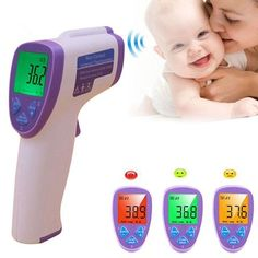 Thermometers Cartoon Baby Body Temperature Electronic Digital Lcd Thermometer Soft Head Medical Temperature Measuring Tools For Kids Adult Delicacies Loved By All