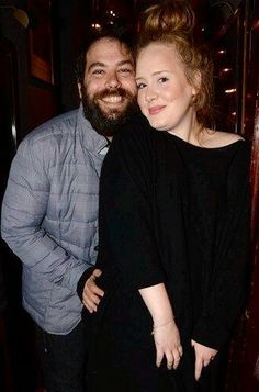 adele-nobodylikeher:  Adele attended Lady Gaga's private concert at Annabel's Club in London with her boyfriend Simon Konecki.