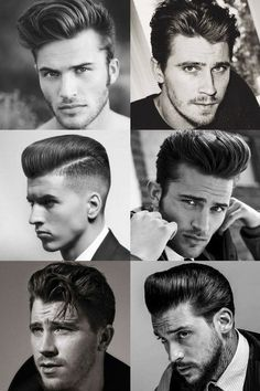1950s Hairstyles For Men Quiff And Pompadour Styles Menshairstyles 1950s Hairstyles Mens Hairstyles 1950s Mens Hairstyles