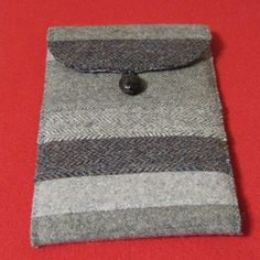 Nook E-Reader Cover from Repurposed Wool Suit Coats & Sport Jackets by WhiffleTreeFarm - $25