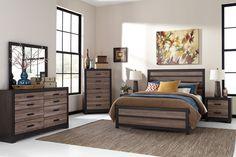 bedroom furniture harlinton 8piece king bedroom package