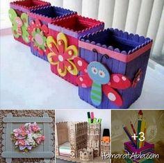 Dondurma Çubuklarından 6 Harika Tasarım!