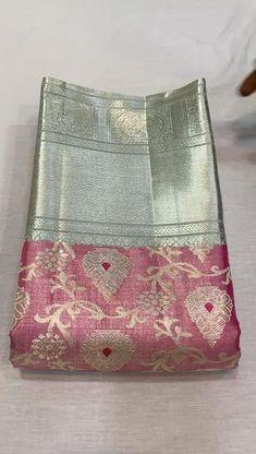 South Indian Wedding Saree, Indian Bridal Sarees, Wedding Silk Saree, Indian Silk Sarees, Cutwork Saree, Khadi Saree, Silk Saree Kanchipuram, Saree Tassels Designs, Pattu Saree Blouse Designs