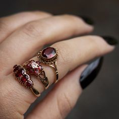 This Morganite engagement ring vintage Art deco Oval Unique is just one of the custom, handmade pieces you'll find in our engagement rings shops. Garnet Jewelry, Garnet Rings, Gold Jewelry, Fine Jewelry, Ruby Rings, Silver Bracelets, Garnet Wedding Rings, Emerald Rings, Key Jewelry