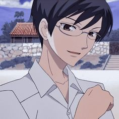 Ouran Highschool Host Club, Ouran Host Club, High School Host Club, Oc Manga, Anime Manga, Hot Anime Boy, Cute Anime Guys, Sasuke, Host Club Anime