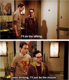 """I'll do the talking.."" ~ The Big Bang Theory ~ Quotes ~ Season 1, Episode 1: Pilot #amusementphile"