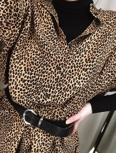 Leopard print is the new black Oversized Shirt Dress, Day Dresses, Latest Trends, Fashion Looks, Vacation, Holiday, Shop, Model, How To Wear