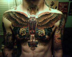 a crazy and beautiful tatoo