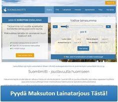 http://www.pienlainat.fi/kuluttomat-lainat/ - Suomilimiitti - Hae lainaa tästä!