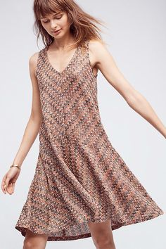 752cfc6fd28b5 Shop Women's Anthropologie Brown Cream size M Dresses at a discounted price  at Poshmark. Description: Anthropology Maeve Westwater Knit Dress Brown  Motif ...