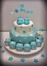 Baby Shower ~ Boy ~ Desserts ~ Cake by bertha Baby Shower Cakes For Boys, Baby Shower Desserts, Boy Baby Shower Themes, Baby Boy Shower, Shower Party, Baby Shower Parties, Cupcakes Decorados, Shower Bebe, Cute Baby Boy