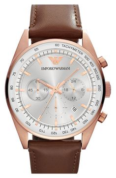 Emporio Armani Chronograph Watch available at #Nordstrom