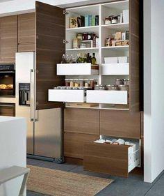 Hazte con un armario polivalente - Cinco ideas para aprovechar cada centímetro de tu cocina
