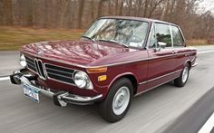1972 BMW 2002tii Malaga Survivor For Sale Front