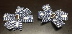 NFL Dallas Cowboys Set of 2 Hair Clips with Chevron by ByChinchie